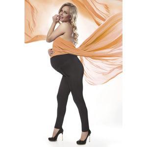 Černé těhotenské legíny Stefanie 200DEN