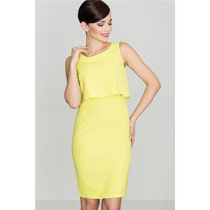 Světle zelené šaty K388