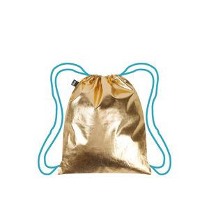 Zlatý vak Loqi Metallic Gold Blue