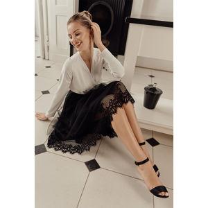 Černá sukně K040