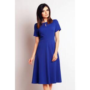 Modré šaty M099