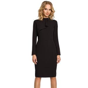 Černé šaty MOE 325