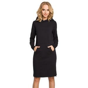 Černé sportovní šaty MOE 329