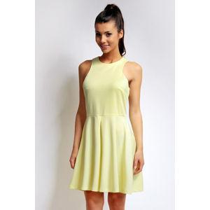 Žluté šaty NA73