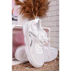 Bílé nízké tenisky Nala