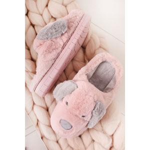 Růžové pantofle Tobias