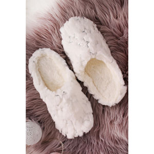 Smetanově-stříbrné pantofle Carly