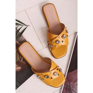 Žluté pantofle Olga