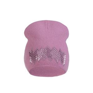 Růžová čepice Estel
