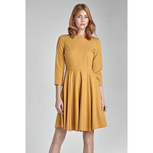 Žluté šaty S19