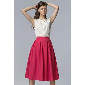 Fuchsiová sukně SP27