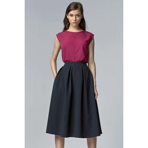 Tmavě modrá sukně SP27