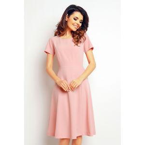 Světle růžové šaty M095