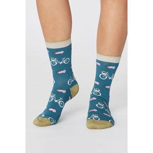 Zelené ponožky Bicycle Socks
