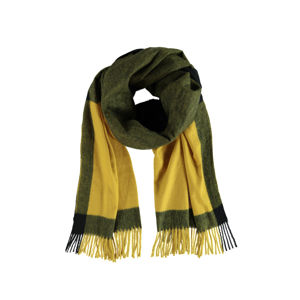 Žluto-zelená šála Bettina