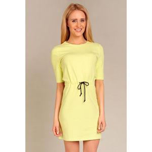 Žluté šaty G14